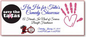 HAHA for Tata's Comedy Fundraiser Event